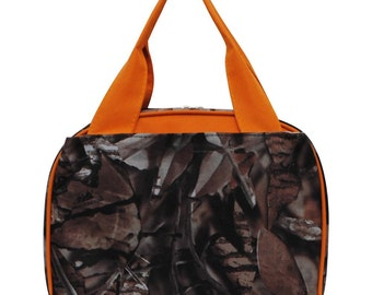 Personalized Insulated Soft Lunchbag:Camo #SN255-ORG