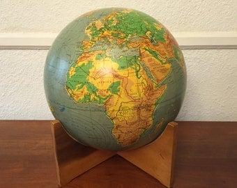 Mid Century Modern 1950s Vintage Globe