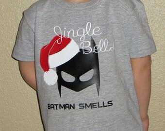 Jingle Bells Batman Smells Tee