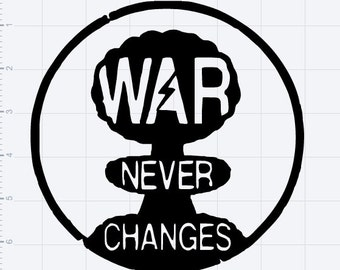 War Never Changes Vinyl Logo
