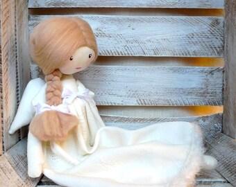 Cloth Rag Doll Handmade Sweet Doll Angel Doll Princess Doll