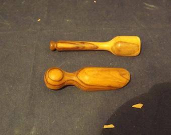 Miniature Wooden Scoops