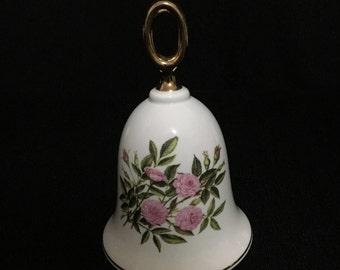 "Vintage Danbury Mint American Rose Bell Collection ""Bo Peep"" Rose (LDT4)"