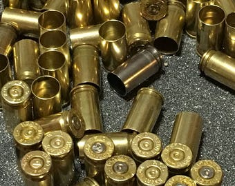 50+ 9mm brass, 9mm bullets, bullet jewelry supplies, 9mm brass shells, 9mm bullet shells, bullet casings, molon labe, reloading supplies