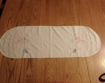 Pink lady dresser scarf