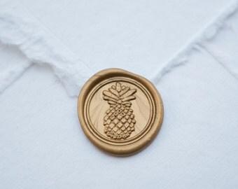 Pineapple Wax Seal