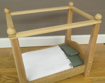 Doll Canopy Bed Etsy