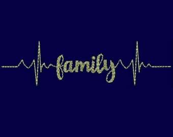 Family Machine Embroidery Designs - Applique Embroidery Design 11