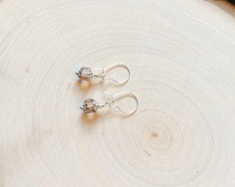 Silver Dangle Renaissance Earrings