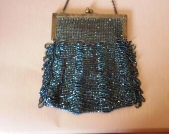Victorian Beaded Bag