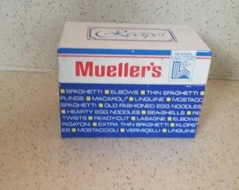"Mueller""s Recipe Box 1980 Olympics"