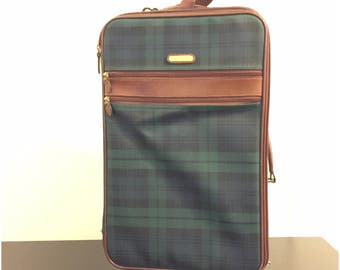 Vintage Ralph Lauren Rolling Luggage Travel Bag