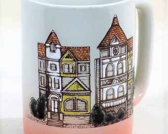 Otarigi Stoneware Mug Victorian House