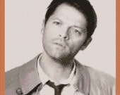 Castiel Custom Cross Stitch Chart - Private Sale