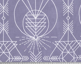 Wander Native in Stone by Joel Dewberry for Free Spirit Fabrics JD0120- Half Yard or By the Yard
