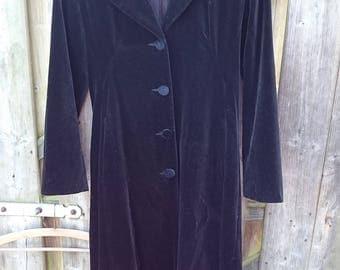 MONSOON TWILIGHT velvet coat fluwelen jas