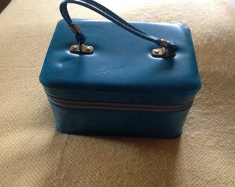 Vintage  Turquoise Tiny Bag.