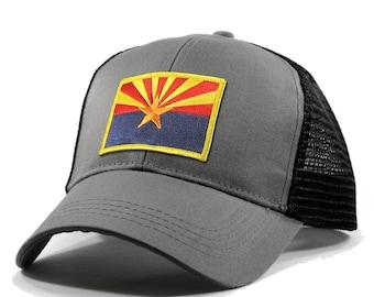 Homeland Tees Arizona Flag Hat - Trucker