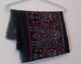 Vintage patterned scarf