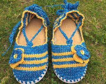 Crochet shose / slippers