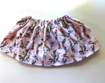 Zootopia Skirt (Multiple Sizes Available)
