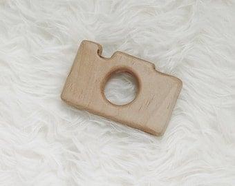 Wooden Camera Toy - Bulk Listing -  Camera Teether - Camera Wood Teether - Wooden Toy Camera - Teething Toy - Wood Camera - Photographer
