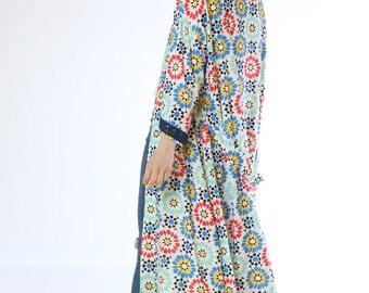 Lisbon Sunshine Long Kimono