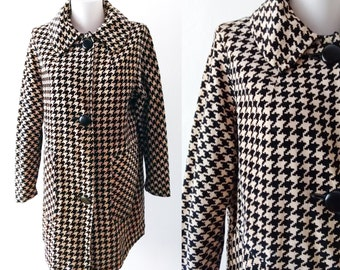 Vintage velvet chequered  jacket , chequered jacket,black velvet jacket,Vintage chequered coat,free shipping