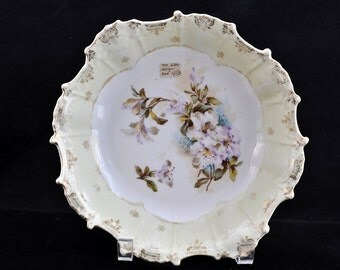 Beautiful Bowl, vegetable bowl, antique, porcelain bowl china floral pattern, great for serving vegetables, priced 45.00 now 18.00, #1979