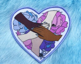 Support each other patch - girls support each orger patch - feminist patch - Lovestruck Prints