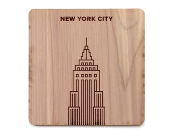 New York City Coaster - Empire State Building
