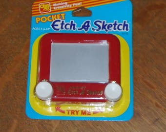 1993 Ohio Art Pocket Etch A Sketch in Original Package