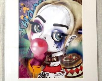 "Harley Quinn (Suicide Squad - Margot Robbie) 11x14"" Art Print by deShan"