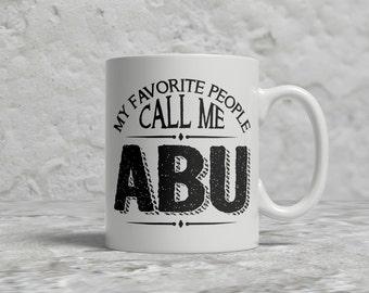 Abu Mug, My Favorite People Call Me Abu