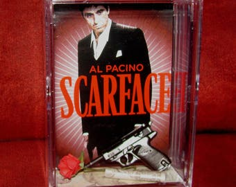 """L@@k~Scarface Collectible  (inspired by) Making Moves display""""cool"""" for the collection.."""