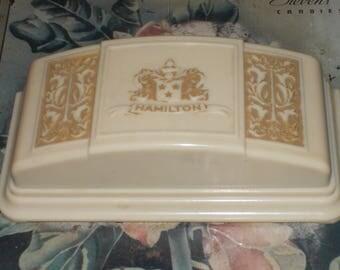 cc-vintage bakelite hamilton watch box