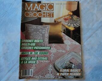 Magic Crochet Magazine February 1988-Number 52