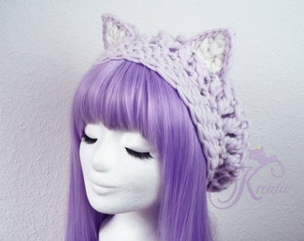 Cat hat (light lilac)