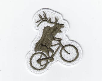 FCO Cycling Wapiti Elk patch - iron on or Velcro