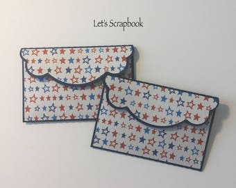 4th Of July Gift Card Holders, Gift Card Holders, Independence Day Gift, Independence Day, Money Holders, 4th Of July, Patriotism