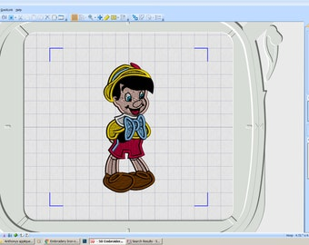 Embroidery Iron-on Patch - Pinocchio