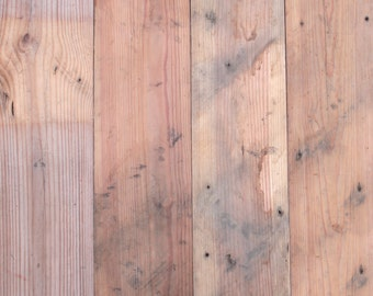 Reclaimed 1x8 Shiplap 21sqft Yellow Pine Paneling Warm Brown Color Authentic and Vintage Patina Siding FREE SHIPPING