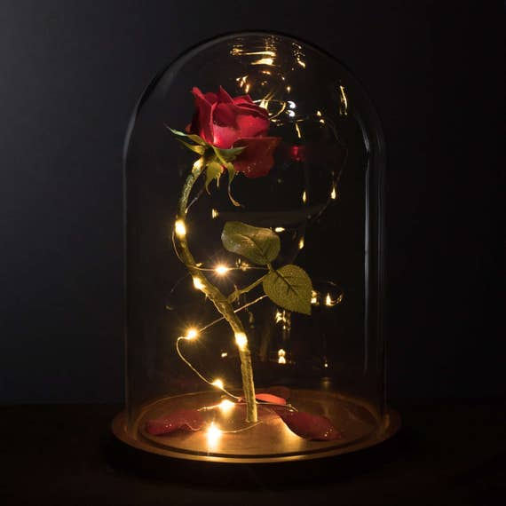 Enchanted Rose Life-Sized from Beauty and the Beast