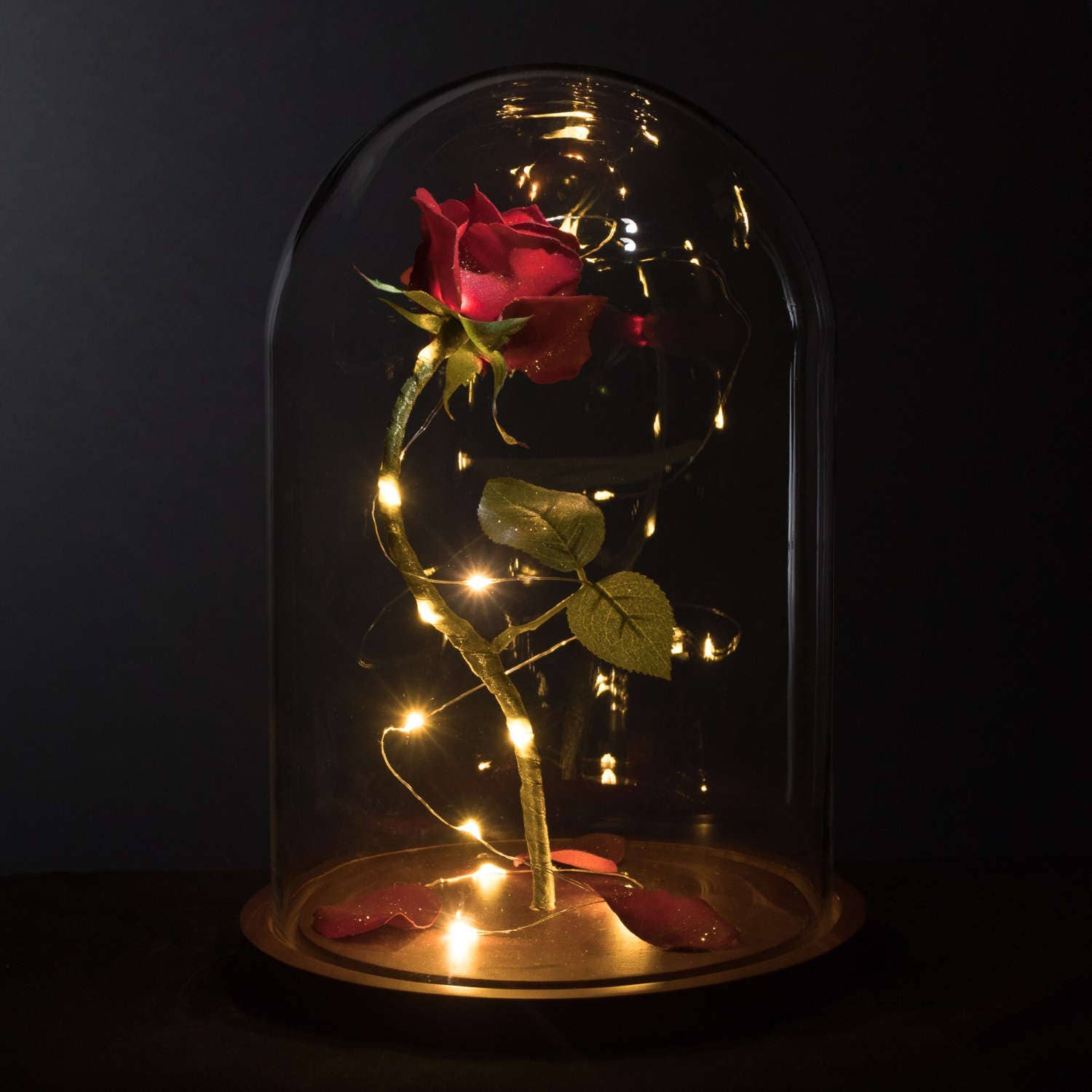 Enchanted Rose Life Sized From Beauty And The Beast