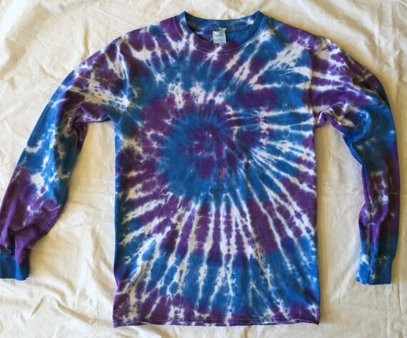 Swirl Tie Dye T-shirt-Long Sleeve
