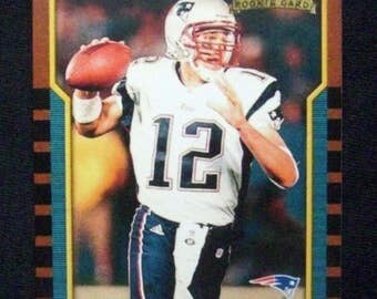 2000 Bowman Football #236 Tom Brady (RC) Repro [New England Patriots]