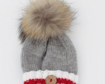 Baby hat -  style Bas de Laine
