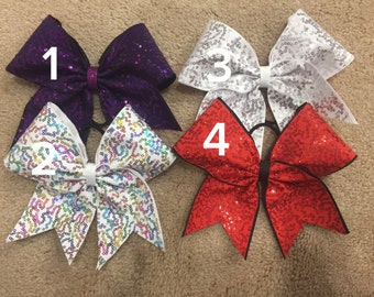 Sale bows - squiggle sequins
