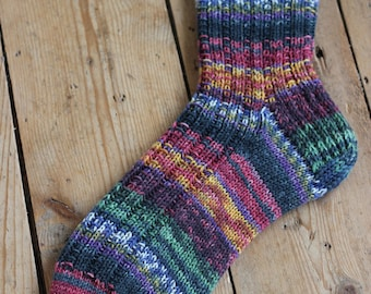 Nol hand knitted socks size EUR 46/47  (US 11 1/2, 12 1/2)