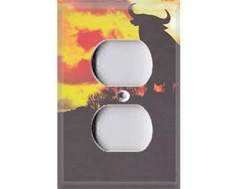 Fiesta Collection - Bull Silhouette Outlet Cover